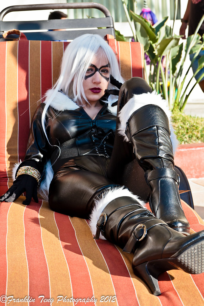 Anime Los Angeles 2012 The Black Cat Felicia Hardy Flickr