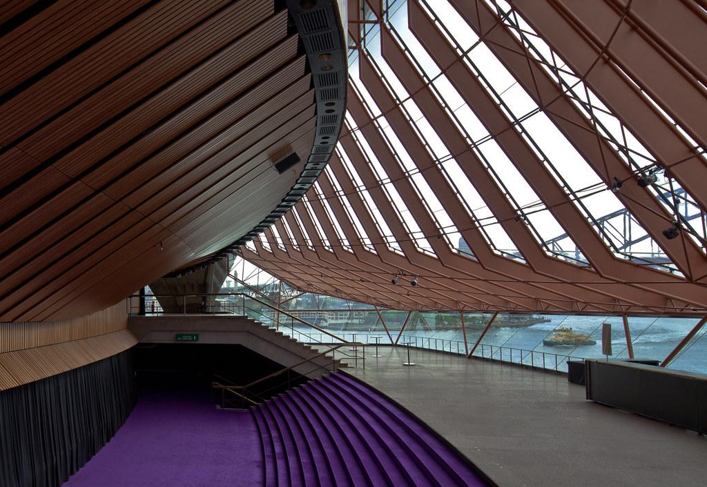 Sydney opera house interior view architect j rn utzon for Interior design recruitment agencies sydney