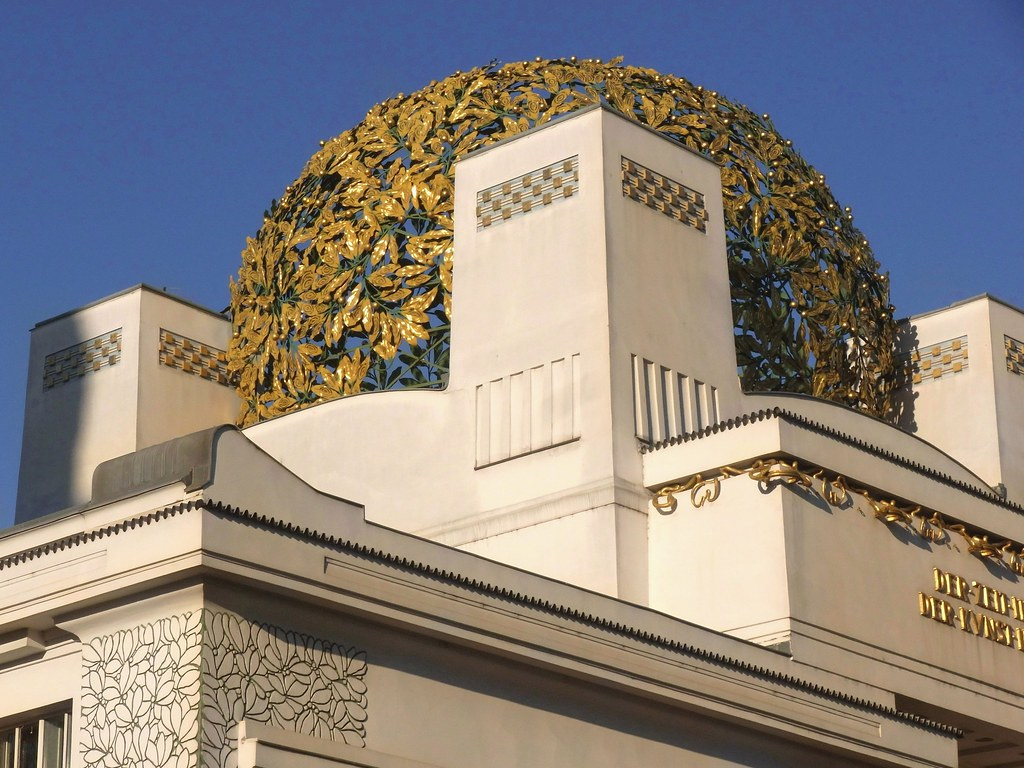 Vienna secession building frankly i was so excited by for Architecture vienne