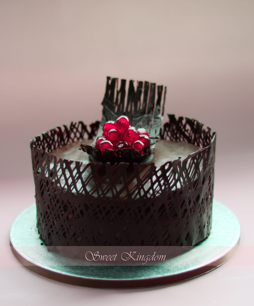 Black And White Forest Cake