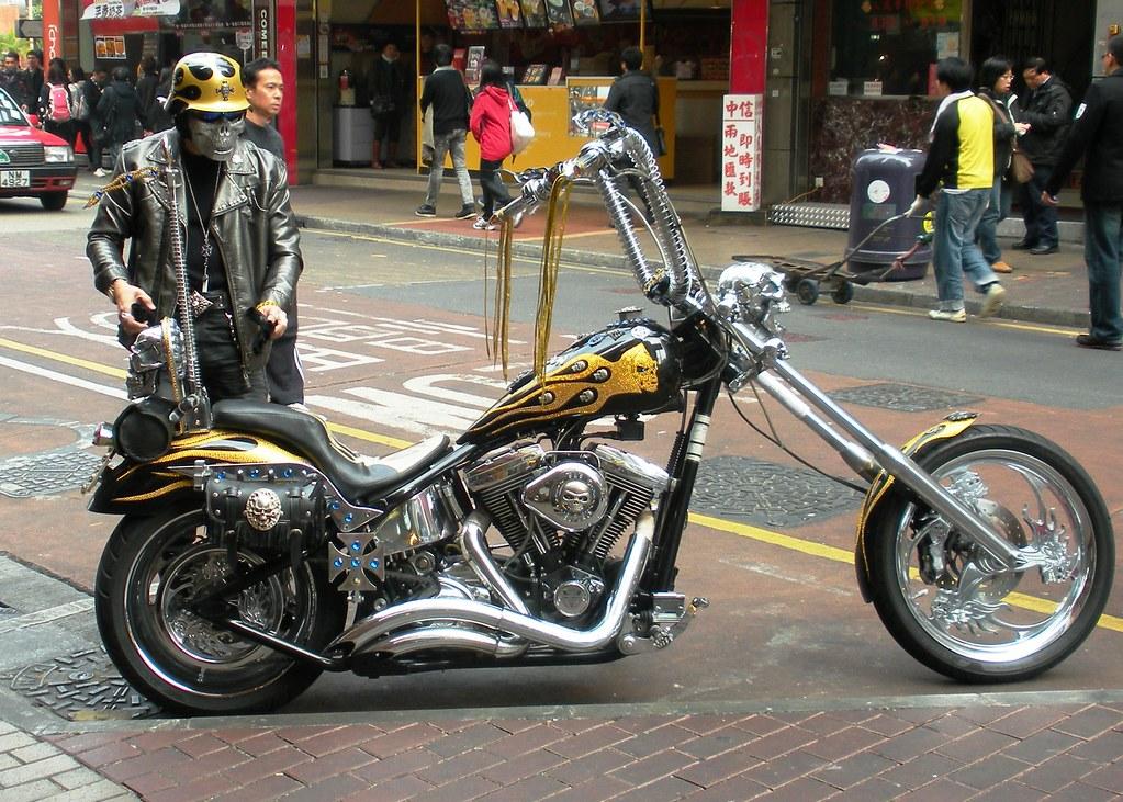 Harley in Hong Kong