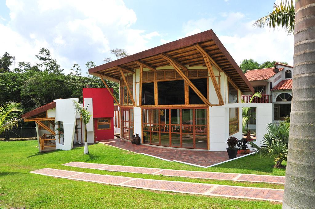 Construcci n con bamb dise o y construcci n zuarq - Construccion y diseno de casas ...