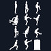 T-Shirt: The TARDIS of Silly Walks (White)