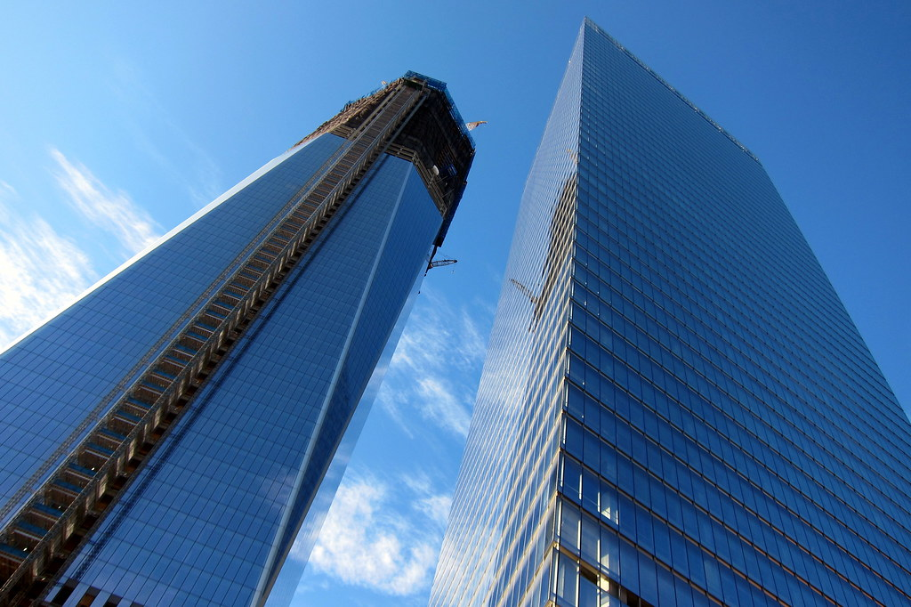 7 Floor Building >> NYC - FiDi: One World Trade Center and Seven World Trade C ...