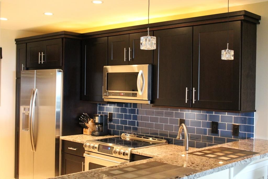 Image Result For Kitchen Backsplash Ideas For Dark Cabinets