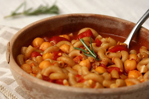 chickpea rosemary soup 6 | by crumblycookie
