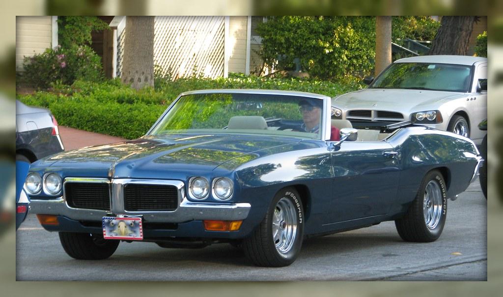 1970 Pontiac Lemans Convertible 5swf350 1 Photographed