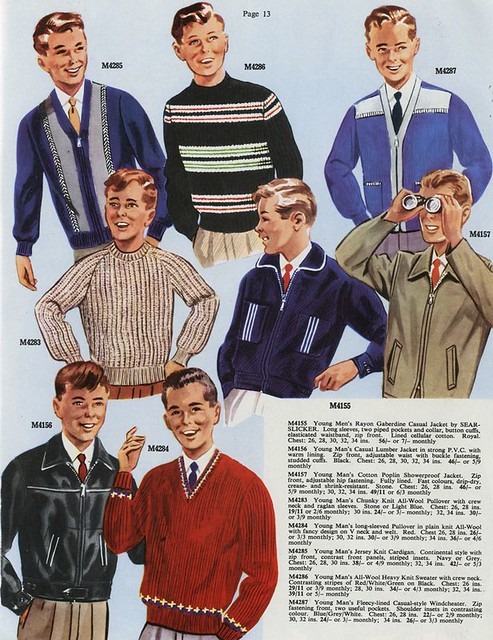Men's fashions, 1961 | Flickr - Photo Sharing!