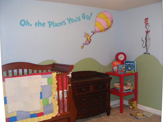 Dr Seuss Hand Painted Murals - a set on Flickr