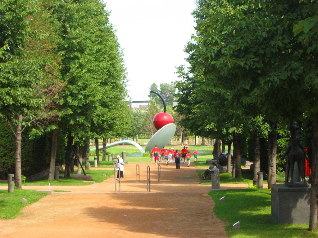 Sculpture garden at the walker art center michael boer - Walker art center sculpture garden ...