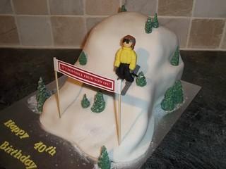 Ski Slope Cake Recipe