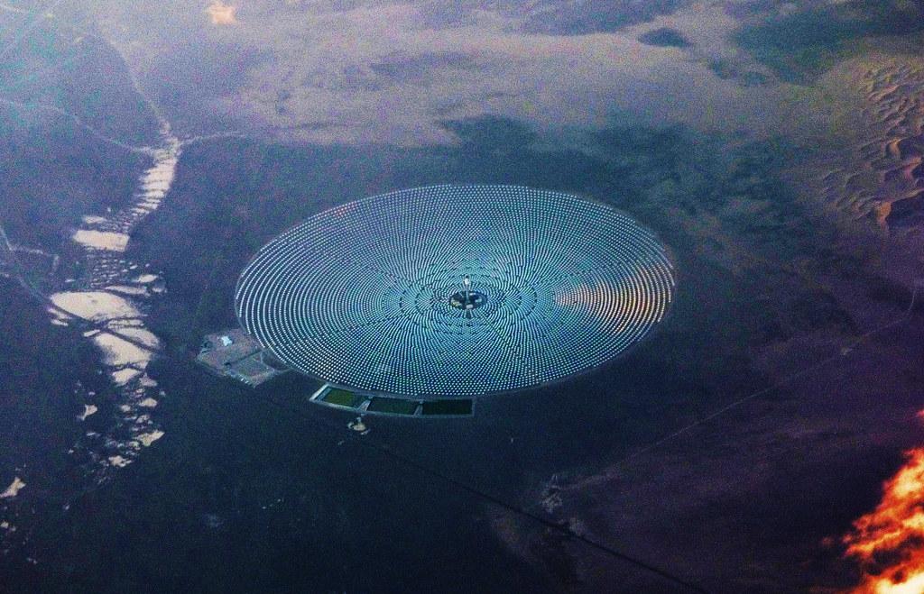 ... Dunes Solar Energy Project | Crescent Dunes Solar E… | Flickr