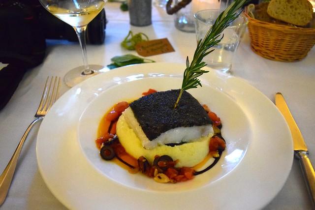Baked Cod at Manoir de Malagorse | www.rachelphipps.com @rachelphipps