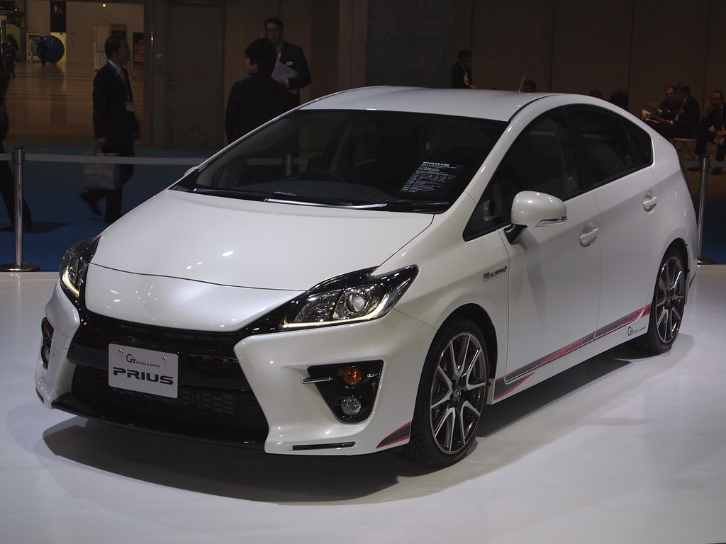 Toyota Prius G Sport Concept The Tokyo Motor Show Will
