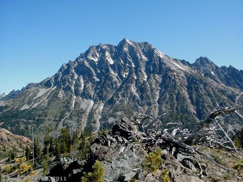 Mt. Stewart from Long's Pass, Washington