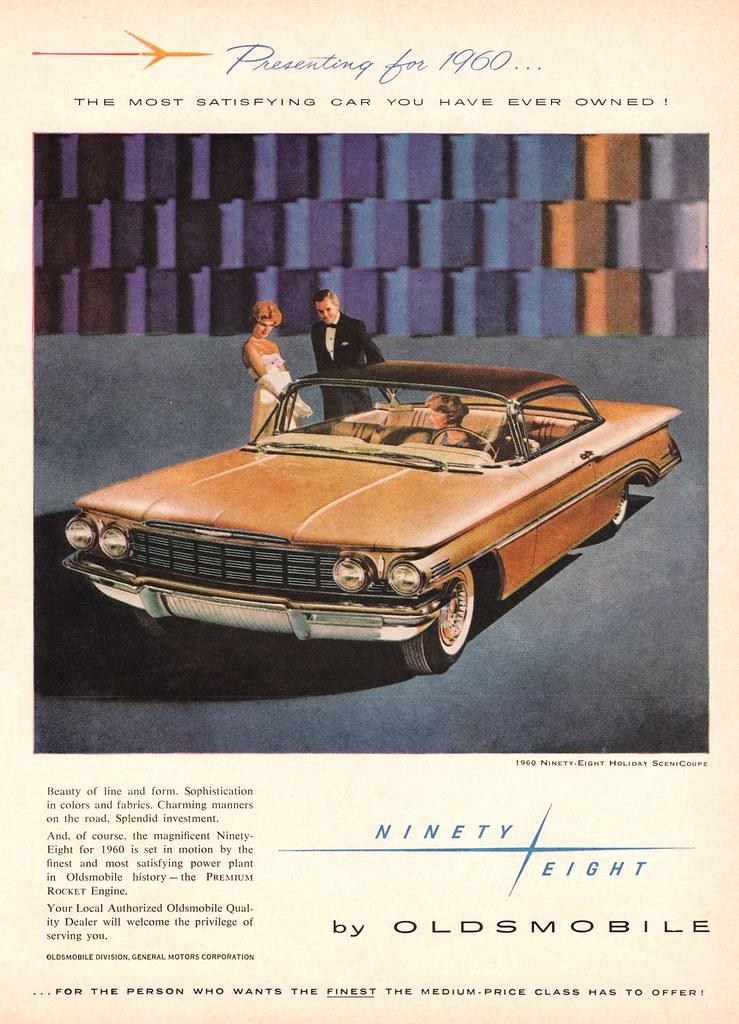 1960 Oldsmobile Ninety-Eight Holiday SceniCoupe