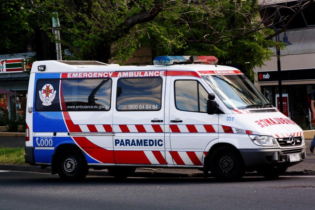Ambulance Victoria Ambulance Victoria 037 Mercedes Benz