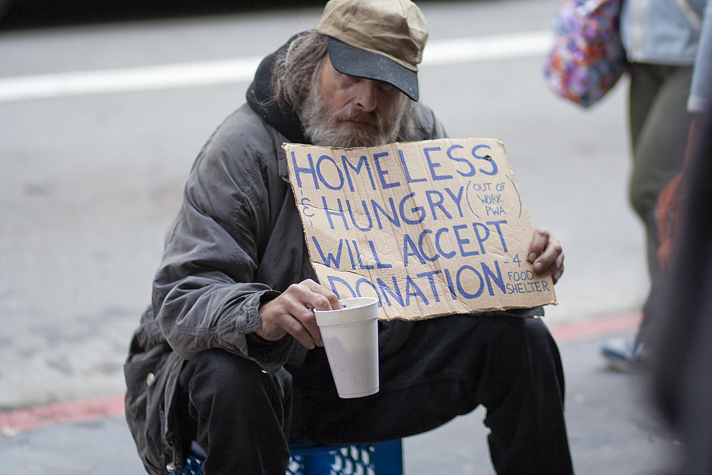 a day in the life of a homeless person essay