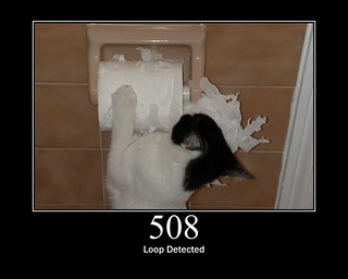 508 - Loop Detected | by GirlieMac