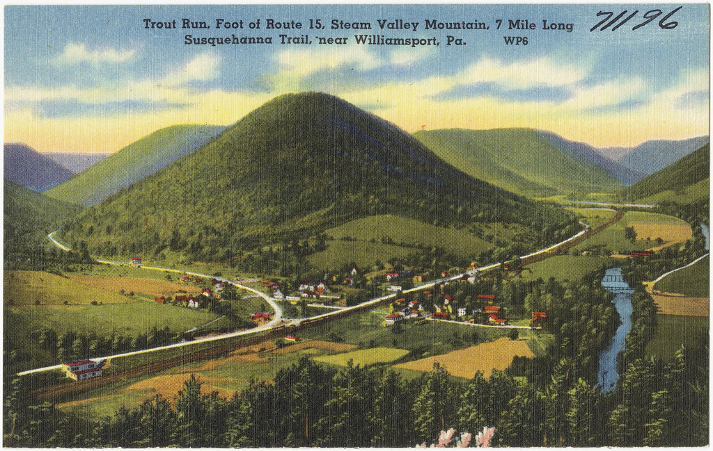 Trout Run Foot Of Route 15 Stream Valley Mountain 7 Mil