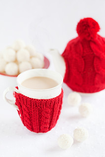 Spiced milk tea and white chocolate coconut truffles | by laperla2009