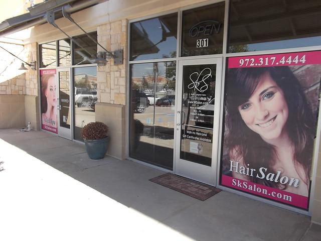 Salon window graphics | Flickr - Photo Sharing!