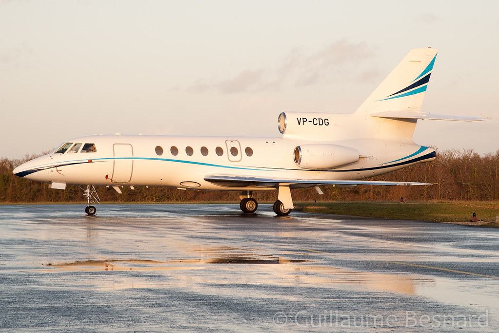 Dassault Falcon 50 VP-CDG cn 184 | Very nice visitor in ...