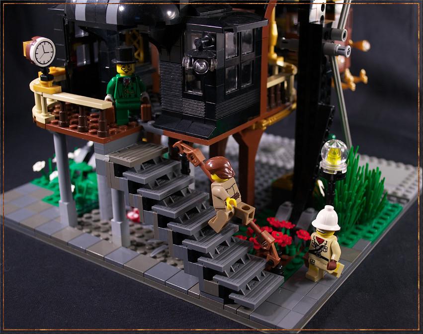 urban steam monorail