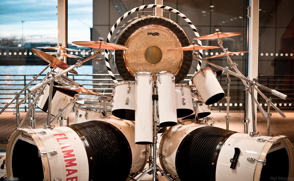 Alex Van Halen S Drum Kit The Rock And Roll Hall Of Fame