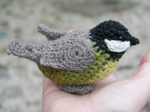 Crochet titmouse | by Lalinda.pl
