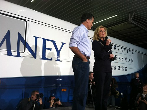 Mitt and Anne Romney | by WEBN-TV