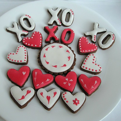 Valentine Sugar Cookies | by . . . Sugar Dot Cookies . . .
