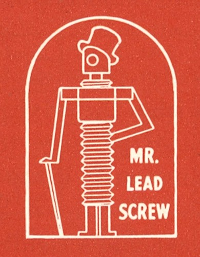 Mr. Lead Screw. | by 44 Bikes Archive