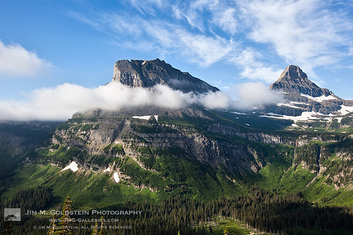 Road to the Sun View, Glacier National Park | by jimgoldstein