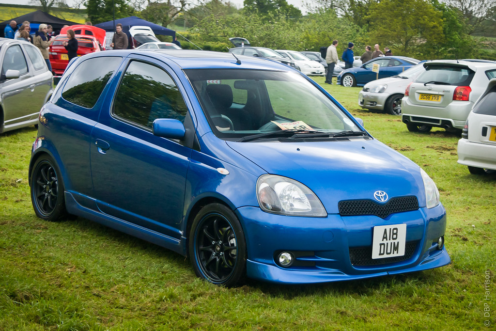 Blue Yaris T Sport Danny Harrison Flickr