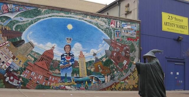 030 23rd street rennaisance market mural austin tx for Austin mural tour