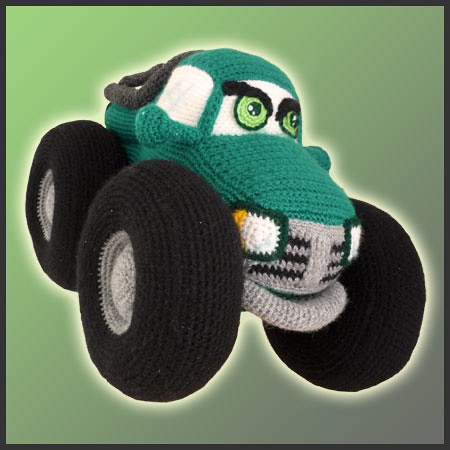 Monster Truck - Amigurumi Pattern by Delicious Crochet ...