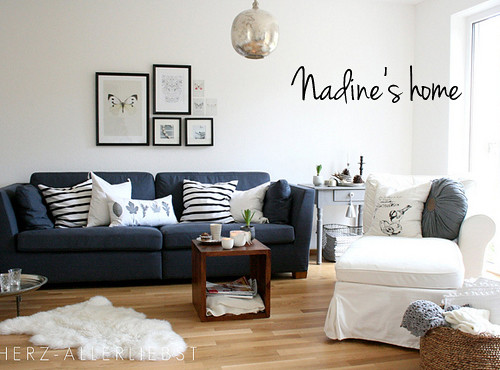 nadine's beautiful home | by the style files