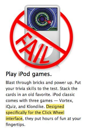 how to games ipod