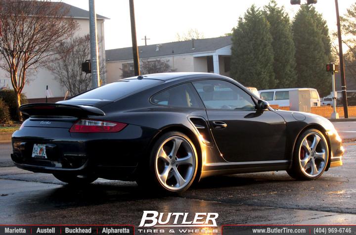 Porsche 911 Turbo With 20in Techart Formula Wheels Flickr