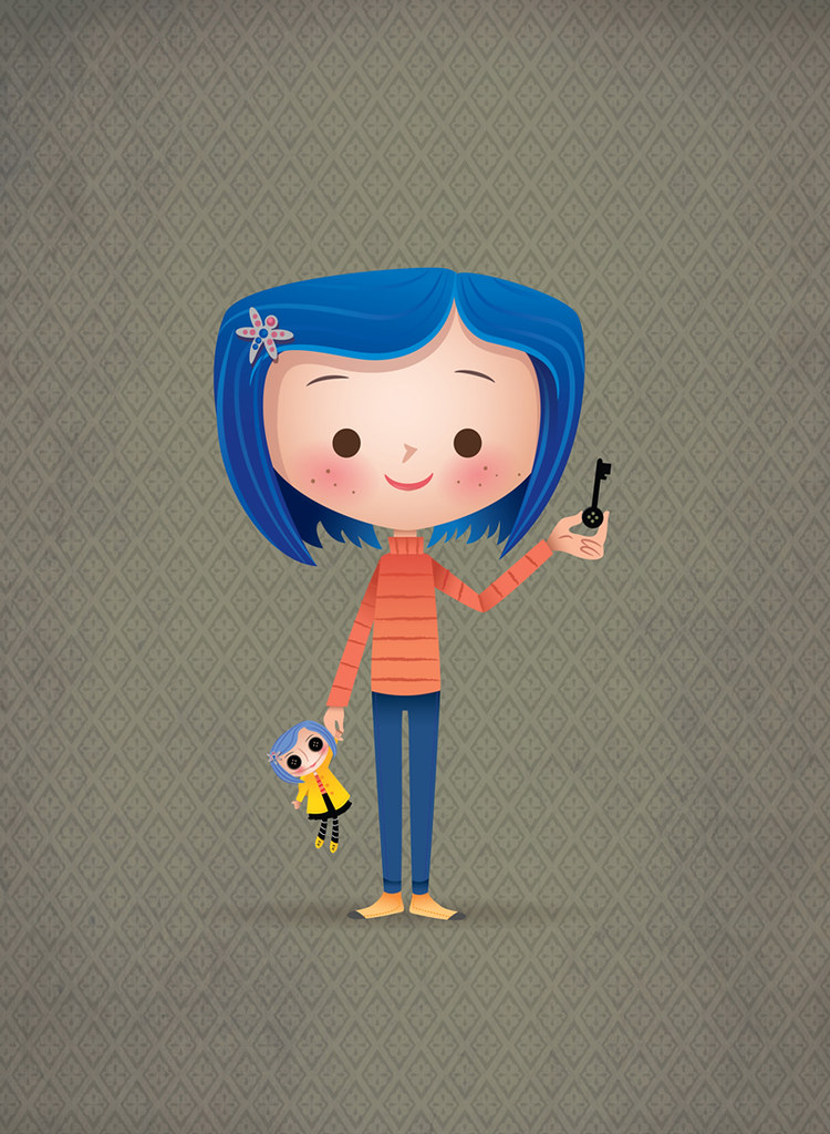 coraline watched this movie again over the weekend