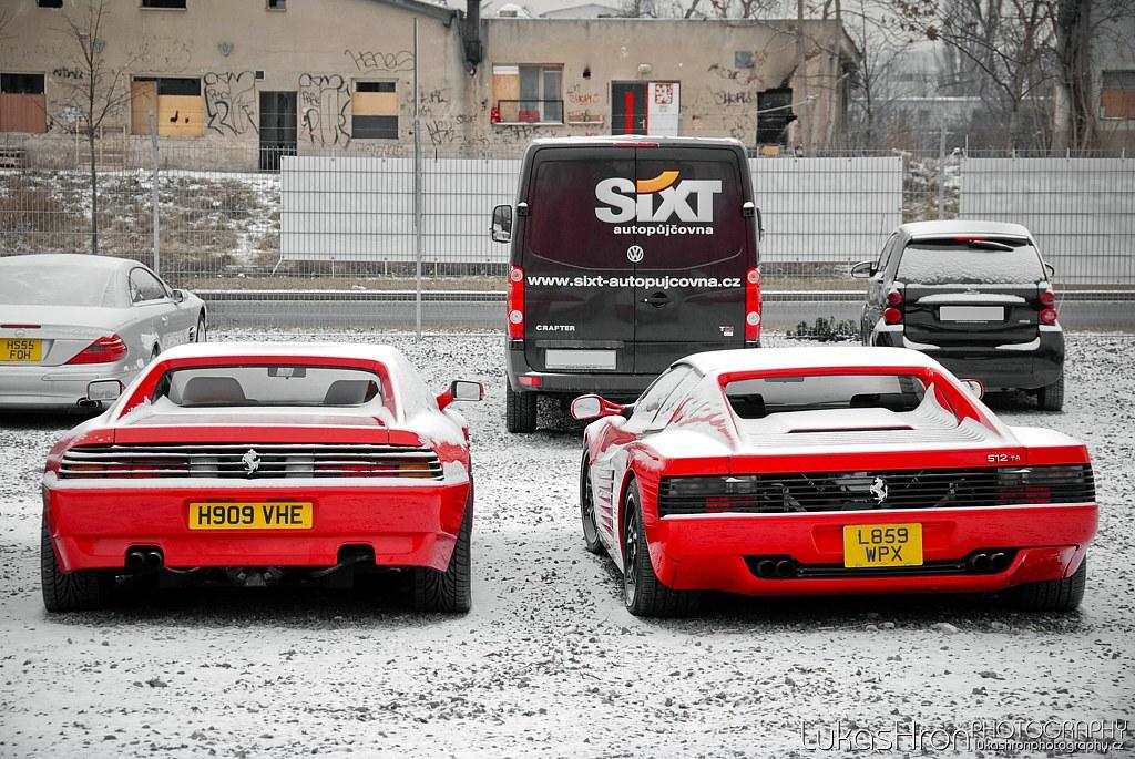 Ferrari 348 Tb And Ferrari 512 Tr Ferrari 348 Tb And