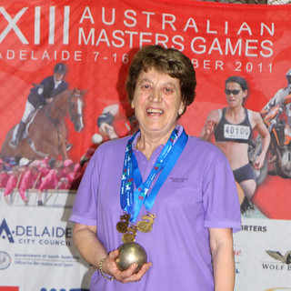 1. Delfina Gallio, three times winner | by Bocce.net
