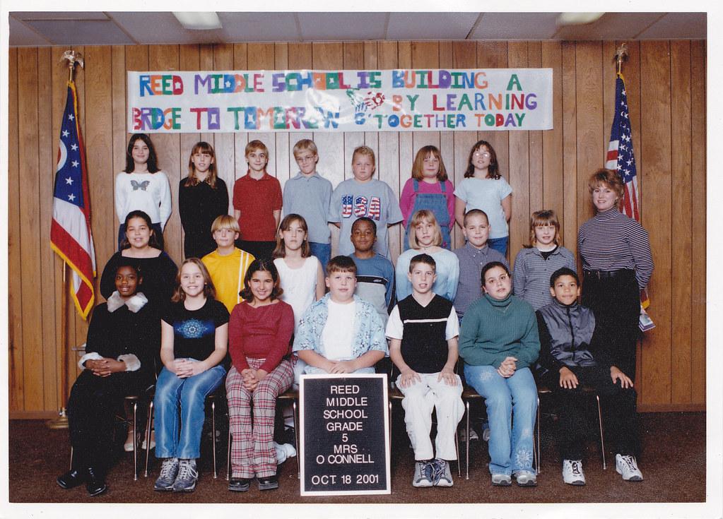 Reed Middle School (Hubbard, Ohio) 2001-2002 school year ...