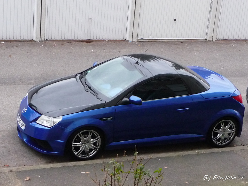 opel tigra twin top lsd tuning devant chez moi fangio678 flickr. Black Bedroom Furniture Sets. Home Design Ideas