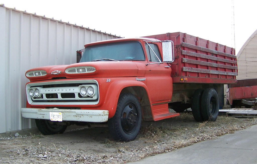 New Chevy Truck >> Chevrolet Grain Truck | A very well preserved example I ...