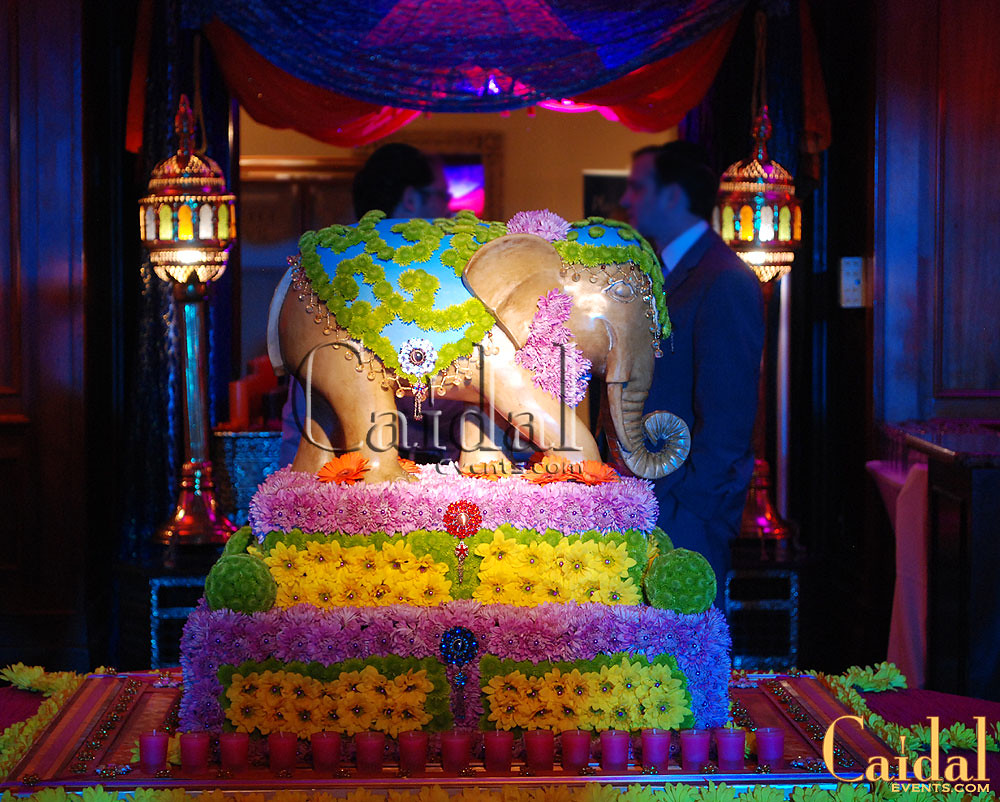 Moroccan themed party decor by caidal events at doral reso for Arabian decoration materials