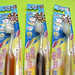 Chocolate toothbrushes