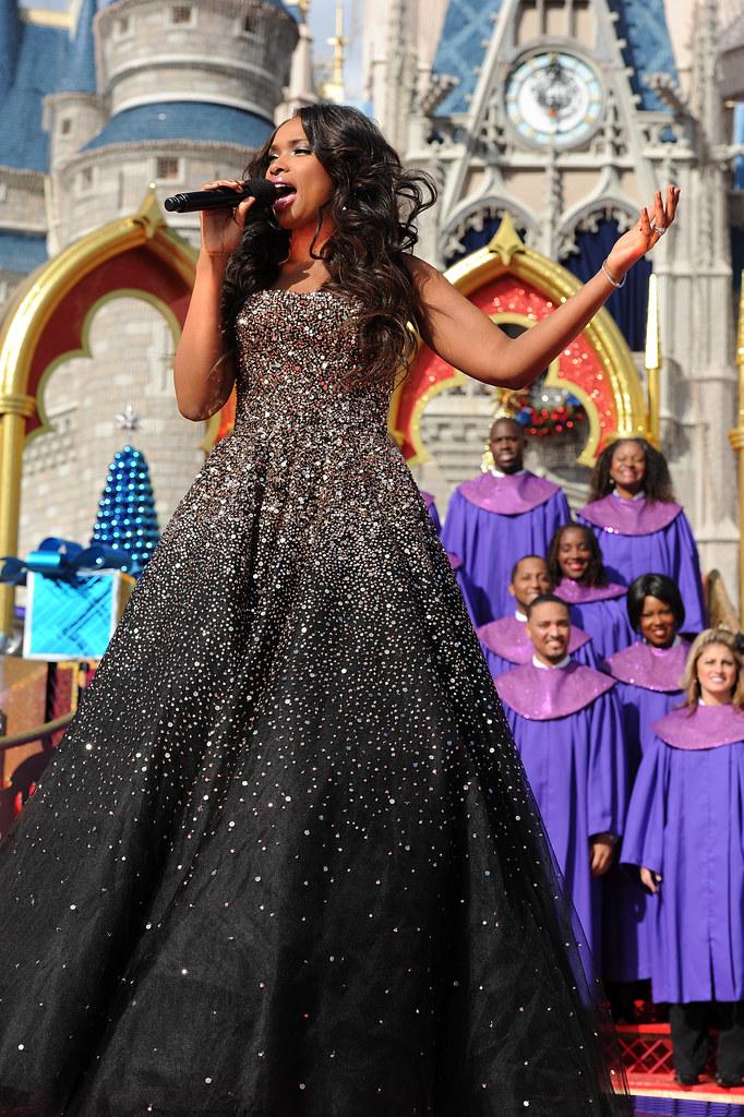 Jennifer Hudson Holiday Dress Designer Pentatonix