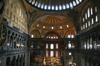 Interior of the Haghia Sofia, Istanbul. | by rob.mcgonigle